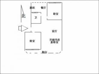 手绘平面户型图楼梯