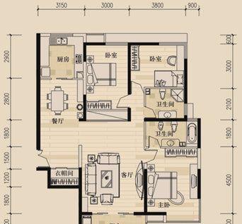 农村普通三间房设计图展示