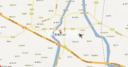 青岛市南区芝罘路地图
